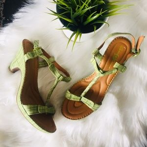 BORN CROWN COLLECTION Alcala II sandals Green  9